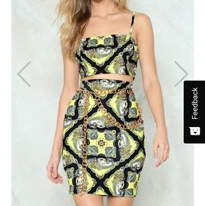 Nastygal Skirt Set NWT